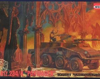"""Сборная модель Немецкий бронеавтомобиль Sd.kfz.234/4 """"Pakwagen"""""""