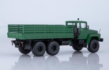 КРАЗ-260 бортовой (ранний), темно-зеленый
