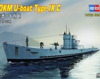Сборная модель Подводная лодка U-boat Type IX C