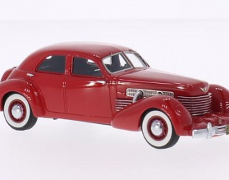 CORD 812 Supercharged Sedan (1937), red