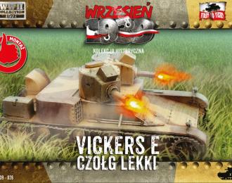 Сборная модель Легкий танк Vickers E
