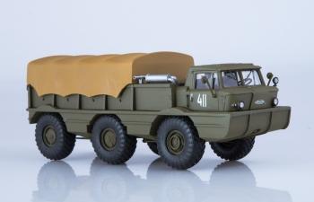 Армейский вездеход-амфибия ЗИЛ-132П, хаки