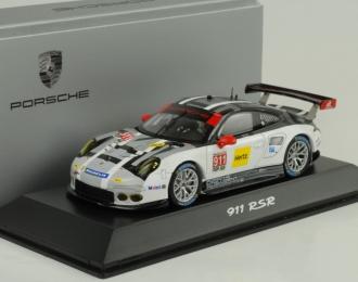 PORSCHE 911 (991) RSR WEC GT (2016), grey / black
