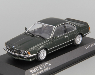 BMW 635 CSI E24 (1984), green metallic