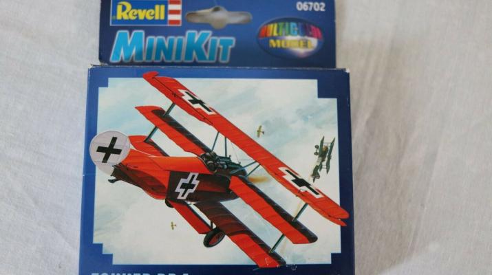 Сборная модель Fokker Dr. 1