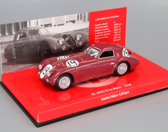 ALFA ROMEO 8C 2900 B Sommer - Siondetti Le Mans (1938), red