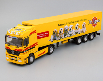 (Уценка!) MERCEDES-BENZ Actros Mk I (1996), yellow