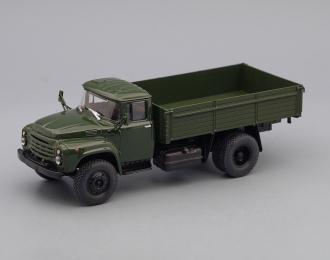 ЗИЛ 130-76 бортовой (новая решетка), защитный зелёный