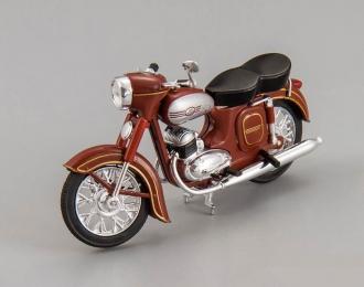 "JAWA 350 ""Kyvacka"" type 354/04 мотоцикл (1957), brown"