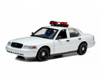 FORD Crown Victoria Police Interceptor (with Lights and Sounds) 2014 White