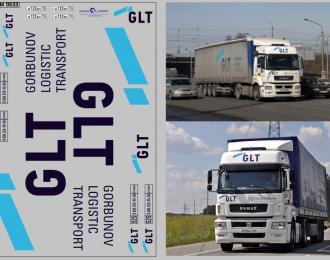 Набор декалей Транспортная компания GLT (вариант 1) (100х140)