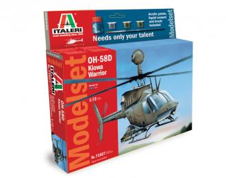 Сборная модель OH 58D Kiowa Warrior (подарочный набор)