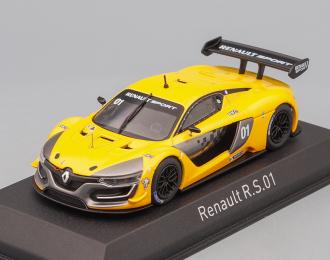 RENAULT R.S.01 Presentation Car (2015), yellow