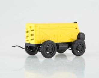 Компрессор передвижной ЗИФ-55, желтый