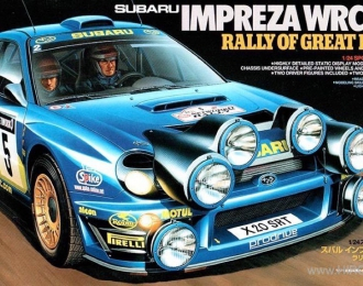 Сборная модель Impreza WCR 2001 Great Britain