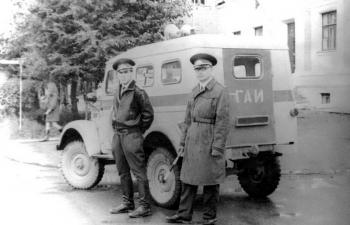 АП-4 (69) - Милиция (ГАИ) - Коми АССР (цветографическая схема после 1969 г.)