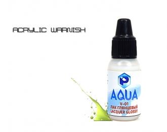 Лак глянцевый  Aqua