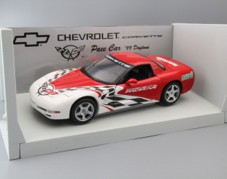 CHEVROLET Corvette Pace Car Daytona (1999), red / red