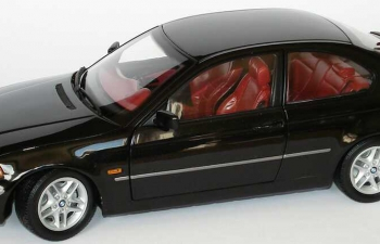 BMW 325ti compact E46/5 (2001), schwarz met.