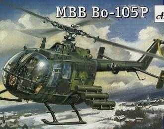 Сборная модель Немецкий ударный вертолет MBB Bo-105P