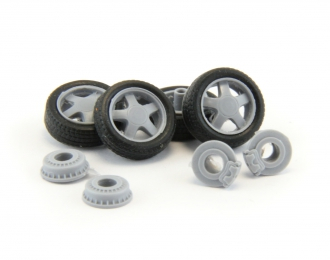 Комплект колес №2 для LADA (Приора, Калина, Самара, 2110-2112)