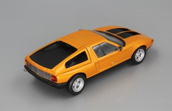 MERCEDES-BENZ C111/II (1970), orange