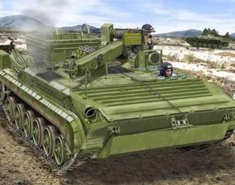 Сборная модель Бронированная ремонтно-эвакуационная машина БРЭМ-2