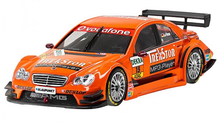 "MERCEDES-BENZ C-Class W204 AMG ""Trekstor"" Daniel la Rosa DTM (2007), orange"