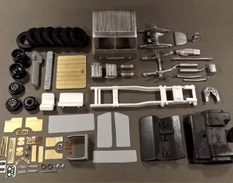 (KIT) КАЗ-608В седельный тягач