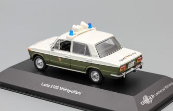 Волжский автомобиль 2103 Volkspolizei DDR, хаки