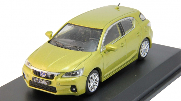 LEXUS CT200h, light green