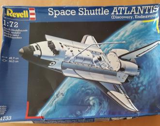 Сборная модель Space Shuttle Atlantis