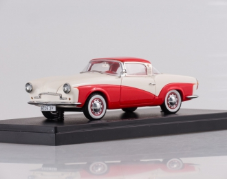 ROMETSCH Lawrence Coupe (1957), red / white