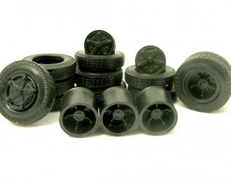 Резина, диски для КамАЗ 5320, шашка
