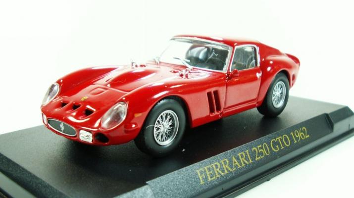 FERRARI 250 GTO (1962), Ferrari Collection 8, red