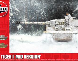 Сборная модель Средняя версия Тигр-1