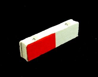 Блок ФБС-24-3-6 (бело-красный)