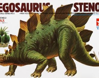 Сборная модель Stegosaurus Stenops