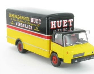 BERLIET Stradair 50 (France 1968), серия Camions DAutrefois 18, желтый