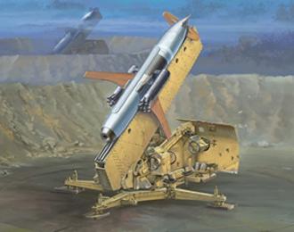 Сборная модель  German R-3p Rheintochter Surface-to-Air Missile