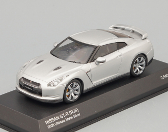 NISSAN GT-R(R35) 2008, Ultimate Metal Silver