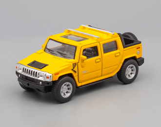 HUMMER H2 SUT Pick-up (2005), yellow