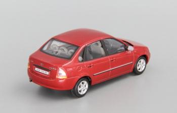 Волжский автомобиль 2118 Калина Седан, бордовый