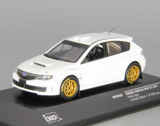 SUBARU Impreza WRX STI Rally Spec (2011), white