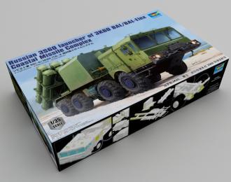 Сборная модель Русская пусковая установка 3С60 3К60 БРК / БАЛ-Элекс Береговой ракетный комплекс