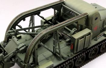 Сборная модель Трактор Быстроходная траншейная машина БТМ-3