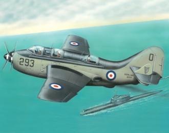 Сборная модель Противолодочный самолет Ганнет Мк.1