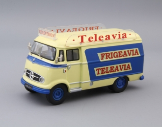 MERCEDES-BENZ L319 Teleavia, blue / light yellow