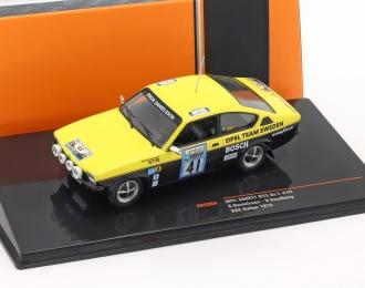 OPEL Kadett C GT/E #41 B.Danielsson/U.Sundberg RAC Rally 1976