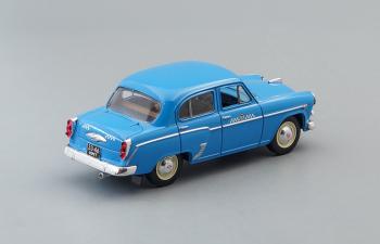 (Конверсия!) МОСКВИЧ 407, Автолегенды СССР Такси, голубой